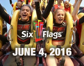 A Day At SixFlags June 4, 2016