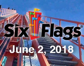 A Day At SixFlags June 2, 2018